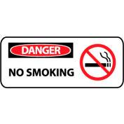 Pictorial OSHA Sign - Vinyl - Danger No Smoking
