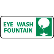 Pictorial OSHA Sign - Plastic - Eye Wash Fountain