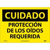 Spanish Vinyl Sign - Cuidado Protección De Los Oidos Requerida