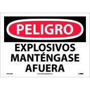 Spanish Vinyl Sign - Peligro Explosivos Mantengase Afuera
