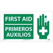 Bilingual Vinyl Sign - First Aid
