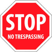 Security Stop Sign - Stop No Trespassing