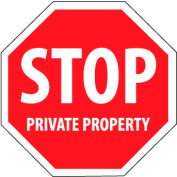 Security Stop Sign - Stop Private Property