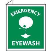 Facility Flange Sign - Emergency Eye Wash