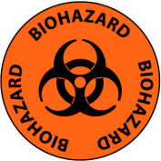 Walk On Floor Sign - Biohazard
