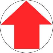 Walk On Floor Sign - Arrow