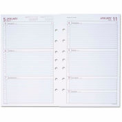 Day Runner® Weekly Planning Pages, 5 1/2 x 8 1/2