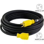Conntek RUL630PR-100 NEMA L6-30 Locking All Weather Cord Set, 100'