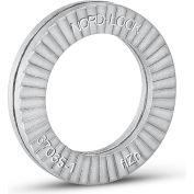 Nord-Lock 1209 Wedge Locking Washer - Carbon Steel - Zinc Flake Coated - M4 (#8) - Pkg of 200
