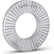 Nord-Lock 1226 Wedge Locking Washer - Carbon Steel-Delta Protekt Coated - M6  Large O.D.-Pkg of 200