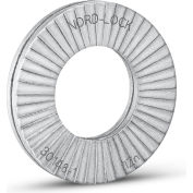 "Nord-Lock 1526 Wedge Locking Washer - Carbon Steel - Zinc Coated - 3/8"" - Large O.D. - Pkg of 10"