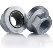 Wedge Locking Wheel Nut - M22 x 1.5 - Carbon Steel - Zinc Flake Coated - Pkg of 20 - Nord-Lock 2638