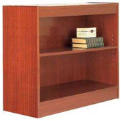 "30"" Laminate Bookcase, Mahogany w/Steel Reinforced 1"" Shelves"