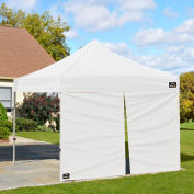 Shelterlogic Wall Kit with Center Zipper for 10x10 Alumi-Max Pop Up Canopy - White