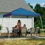 12x12 Slant Leg Pop Up Canopy - Blue Cover