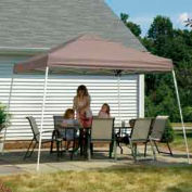 12x12 Slant Leg Pop Up Canopy - Desert Bronze Cover