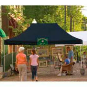 10x15 Straight Leg Pop Up Canopy - Black Cover