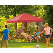 10x10 Slant Leg Pop Up Canopy - Red Cover