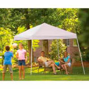 10x10 Slant Leg Pop Up Canopy - White Cover