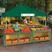 12x12 S T Popup Canopy - Green Cover w/Black Roller Bag