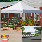 Shelterlogic 10x10 Alumi-Max Pop Up Canopy, Aluminum Pipe - White Cover