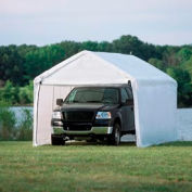 "Shelterlogic Max AP™ Canopy 23530, 10'W X 20'L, 1-3/8"" Frame, 8-Leg, White"