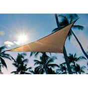 ShelterLogic, 25729, ShadeLogic Sun Shade Sail Triangle 16 ft. x 16 ft. Sand