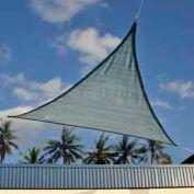12 Foot Triangle ShadeSail - Sea