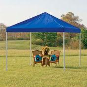 "Shelterlogic Celebration Canopy 25783, Decorative Series, 12'W X 12'L, 2"" Frame, 4-Leg, Blue"