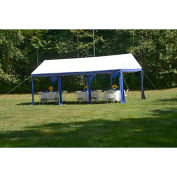 ShelterLogic, 25888, Party Tent 9-11/16 ft. x 19-5/8 ft Blue/White