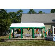 ShelterLogic, 25889, Party Tent 9-11/16 ft. x 19-5/8 ft, Green/White