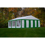 ShelterLogic, 25929, Enclosure Kit with Windows for Party Tent 19-5/8 x19-5/8 ft , Green/White,