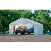 ShelterLogic, 26179, White Canopy Enclosure Kit FR Rated 18 ft. x 30 ft