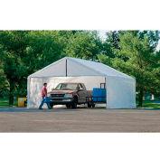 ShelterLogic, 26179, White Canopy Enclosure Kit FR Rated 18 ft. x 30 ft