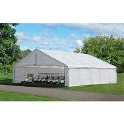 "ShelterLogic, 27778, 30 ft x 30 ft Canopy Replacement Cover for 2-3/8"" Frame FR Rated White"