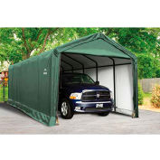 ShelterLogic, 62811, ShelterTube 12 ft x 30 ft x 11 ft. Peak Style Garage/Shelter- Green