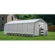 ShelterLogic, 70591, GrowIt Heavy Duty Walk-Thru Greenhouse Peak-Style 12 ft. x 24 ft. x 8 ft.