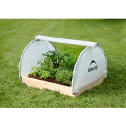 ShelterLogic, 70617, GrowIt® Backyard Raised Bed Greenhouse- Round Style 4 ft.x4 ft.x1-7/8 ft.
