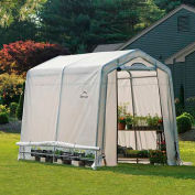 "ShelterLogic 70652 GrowIt® Greenhouse-in-a-Box®, 6' x 8' x 6' 6"", 1-3/8"" Frame Sz"