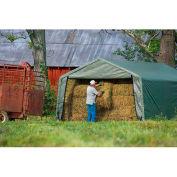 ShelterLogic, 71534, Equine Storage Shelter Peak-Style 12 ft. x 20 ft. x 8 ft.