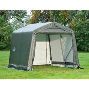 8x16x8 Peak Style Shelter - Grey