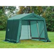 8x16x8 Peak Style Shelter - Green