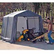 10x8x8 Peak Style Shelter - Grey