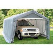 10x12x8 Peak Style Shelter - Grey