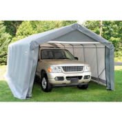 10x8x10 Peak Style Shelter - Grey