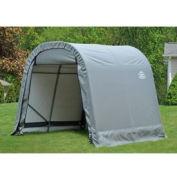 8x16x8 Round Style Shelter - Grey