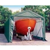 14x36x16 Peak Style Shelter - Green
