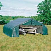 22x24x12 Peak Style Shelter - Green