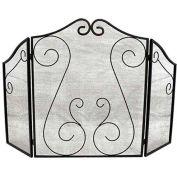 "ShelterLogic® 90394 Fireplace Scrollwork Screen, 3 Panel Design, 32""L"