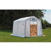 ShelterLogic, 90396, Firewood Seasoning Shed 10 x 10 x 8 ft.